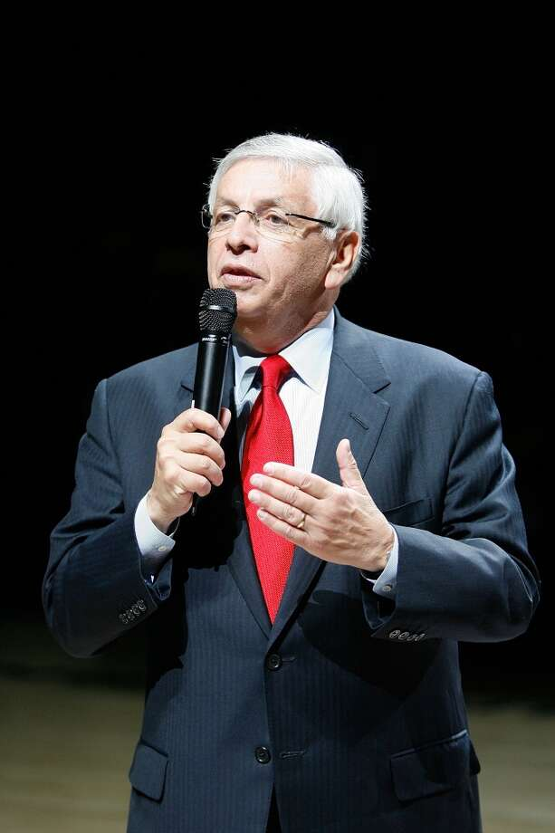 David Stern will step down as NBA commissioner on Feb. 1, 2014, 30 years to the day after beginning his tenure as commissioner. Photo: Chris Graythen, Getty Images