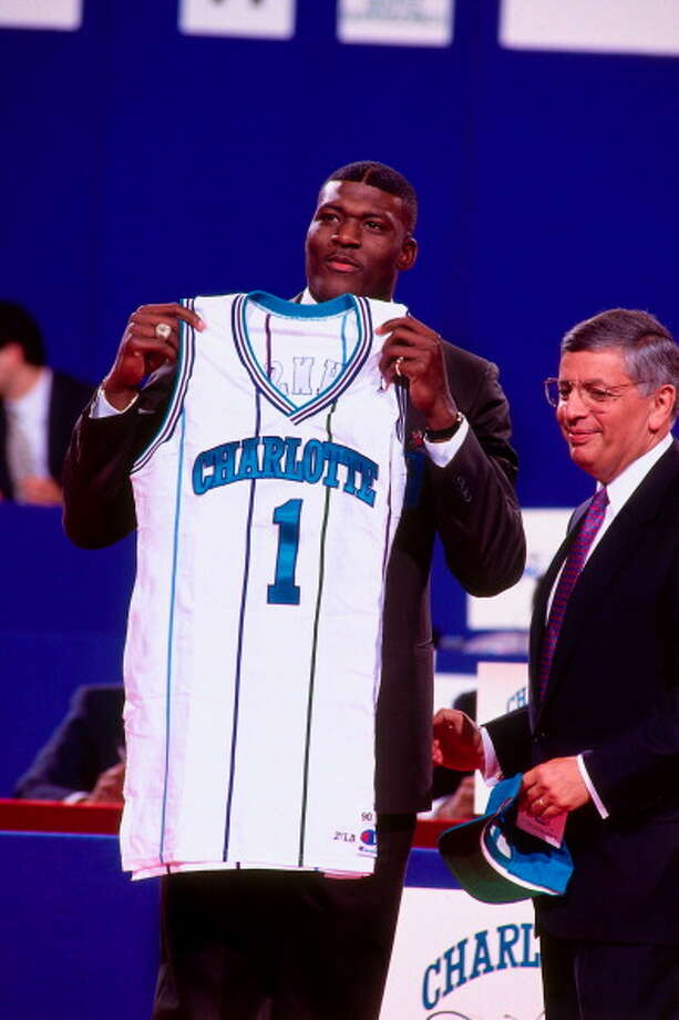 Seven teams were added to the NBA in Stern's 30 years. The Hornets, Timberwolves, Heat, Magic, Grizzlies, Raptors, and Bobcats. Photo: Nathaniel S. Butler, NBAE/Getty Images / 1991 NBAE