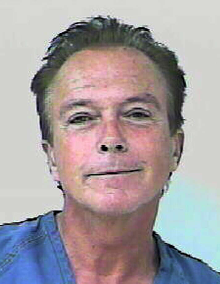 "In this undated photo provided by the Florida Highway Patrol, former ""Partridge Family"" heartthrob David?džCassidy is shown. According to the Florida Highway Patrol, Cassidy's car was stopped around 6 p.m. Wednesday, Nov. 3, 2010, on the Florida Turnpike for weaving and nearly causing an accident. The FHP report states that Cassidy failed a field sobriety test, and breath tests at the St. Lucie County jail showed his blood-alcohol content at 0.139 and 0.141, above Florida's legal limit of 0.08. (AP Photo/Florida Highway Patrol) ORG XMIT: MER2014013110540199 / Florida Highway Patrol"