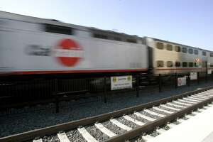 Man struck by Caltrain in San Bruno - Photo