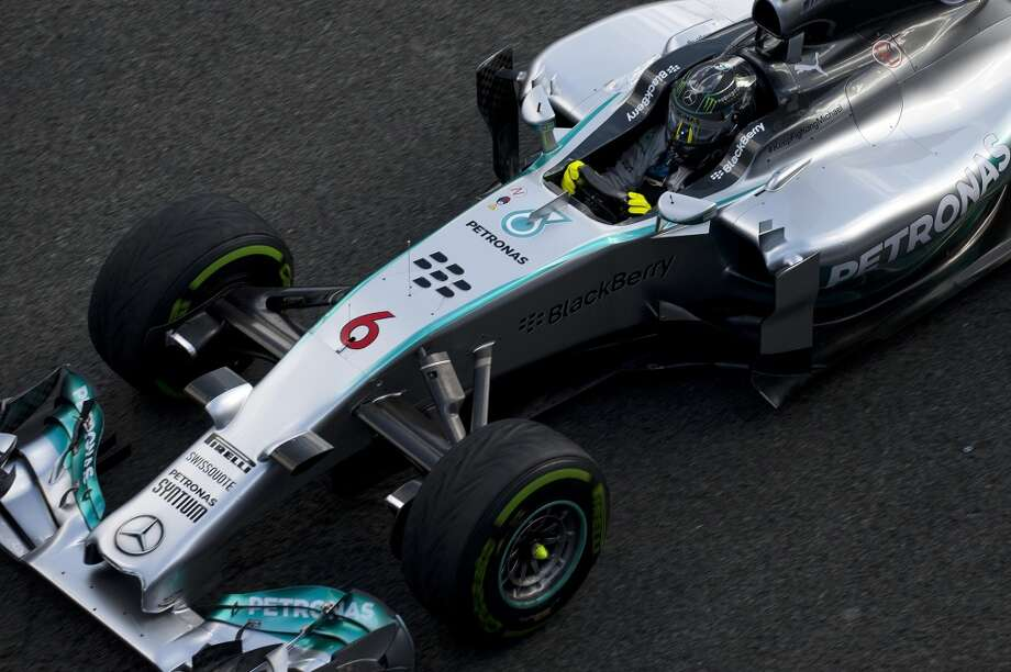Mercedes Petronas' German driver Nico Rosberg takes part in the Formula One pre-season test days at Jerez racetrack in Jerez. Photo: JORGE GUERRERO, AFP/Getty Images