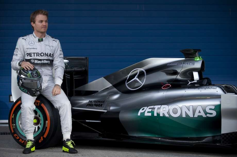 German driver Nico Rosberg poses during the unveiling of the Mercedes AMG Petronas W05 racing car during the Formula One test days at Jerez racetrack in Jerez. Photo: JORGE GUERRERO, AFP/Getty Images