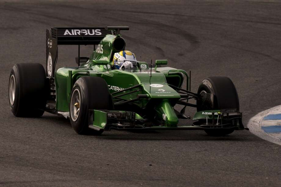 Caterham F1 team's Swedish driver Marcus Ericsson takes part in the Formula One pre-season test days at Jerez racetrack in Jerez. Photo: JORGE GUERRERO, AFP/Getty Images