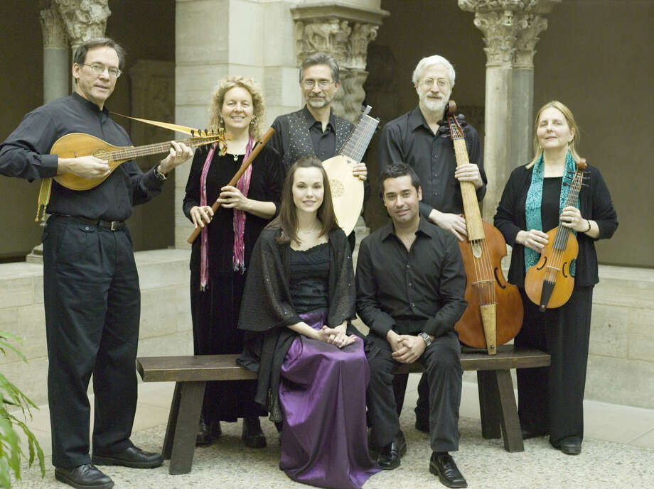 Acclaimed masters of early music styles and instruments, the Baltimore Consort, will perform a 90-minute concert at the Greenwich Library Cole Auditorium on Sunday, Feb. 16 at 3:30 p.m. Photo: Contributed Photo / Connecticut Post Contributed
