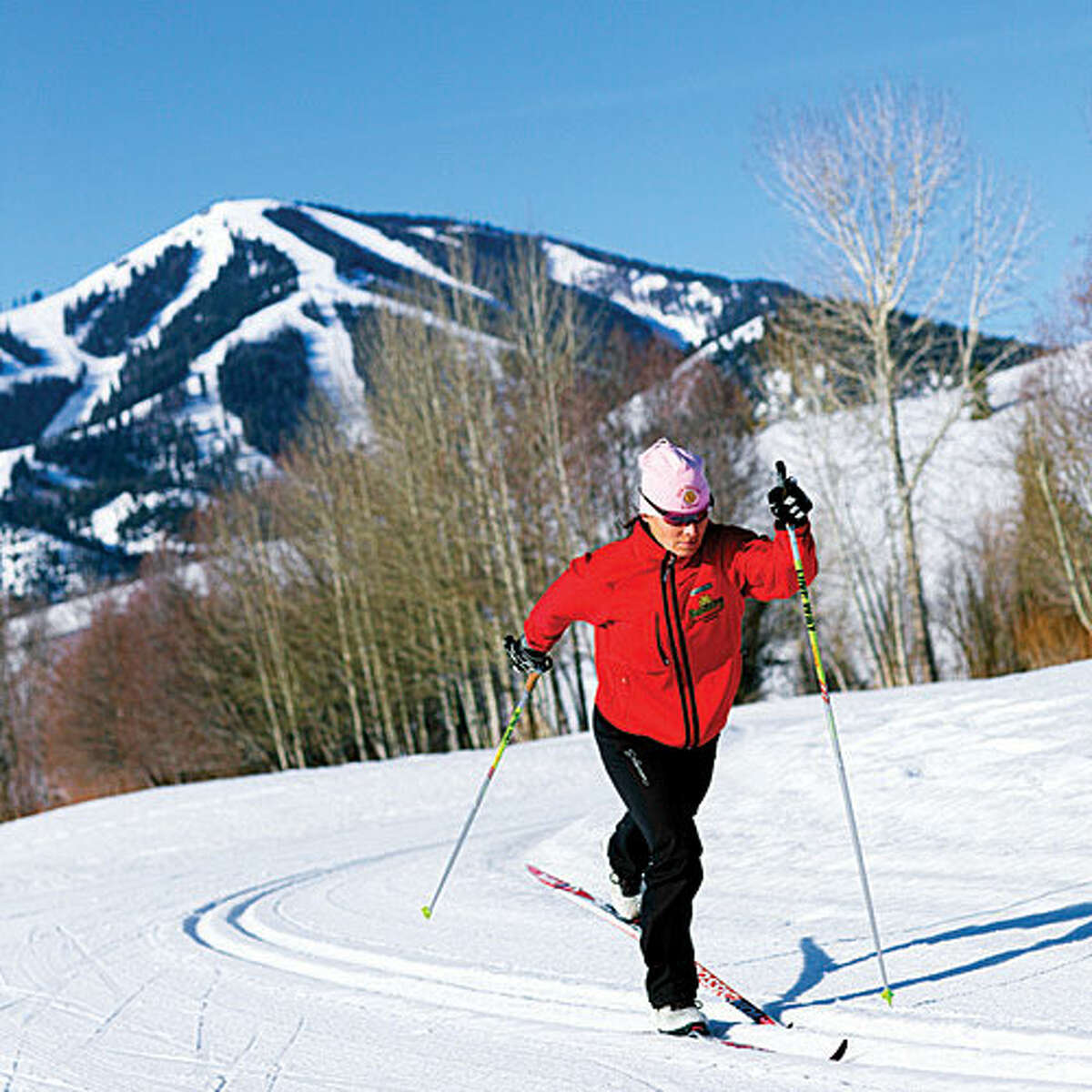 Bald Mountain, ID Idaho's ski paradise, 2 1/2 hours east of Boise, is Bald Mountain (aka Baldy), known for its steep pitch and bone-dry powder. For a hangout alternative to the town of Sun Valley, head to nearby Ketchum for its stylish indie shops, saloons, and restaurants rivaling what you'd find in the big city. Stay: Wake up in one of the three ski-in yurts at Galena Lodge, with your order of freshly baked breakfast muffins delivered to your front flap. From $125; galenalodge.com