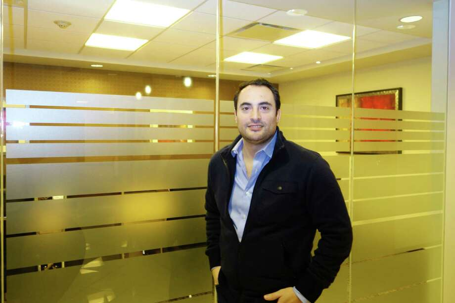 Conciergist co-founder Zachary Martinez in the company's Greenwich offices at 500 W. Putnam Ave. Photo: Contributed Photo / Greenwich Time Contributed
