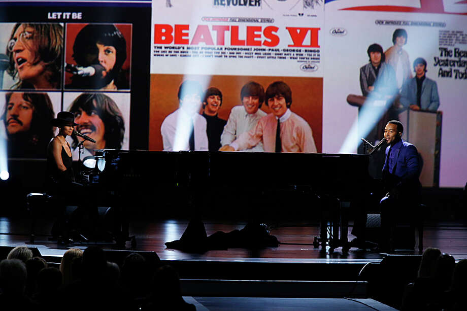 The Grammys celebrate the Beatles on Sunday, Feb. 9th at 7 p.m. on CBS Photo: Cliff Lipson, ©2014 CBS Broadcasting Inc. All Rights Reserved / Ã?©2014 CBS Broadcasting Inc. All Rights Reserved