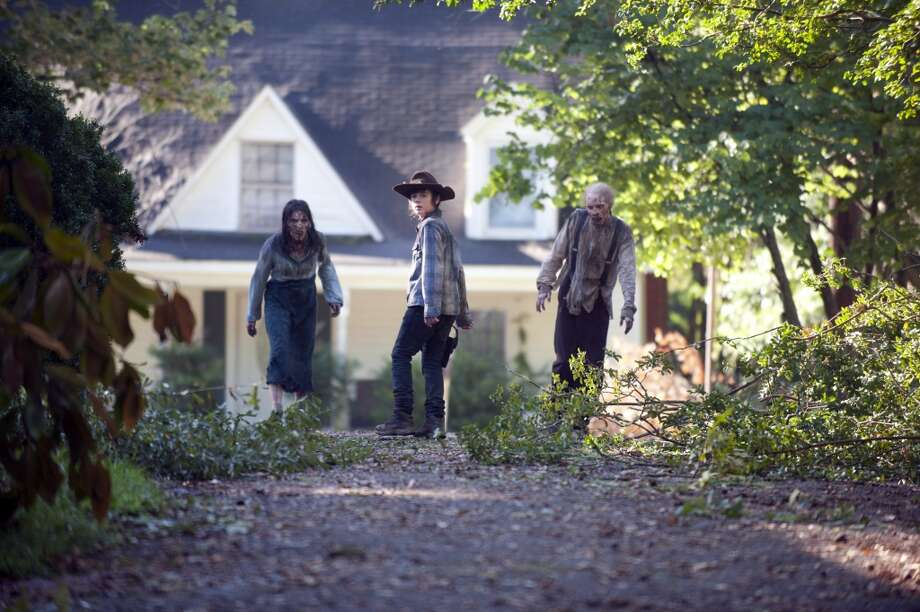 The Walking Dead returns to finish its fourth terrifying season on Sunday, Feb. 9th at 9 p.m. on AMC Photo: Gene Page/AMC