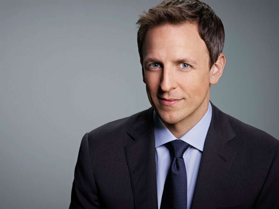 Seth Meyers leaves Saturday Night Live to become Late Night's new host on Monday, Feb. 24th at 11:30 on NBC. Photo: NBC, Rodolfo Martinez/NBC / 2013 NBCUniversal Media, LLC