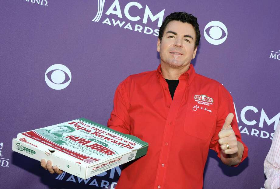 Papa John's Pizza CEO John Schnatter said national anthem protests in the NFL is hurting Papa John's pizza sales.See what notable NFL players have to say about the national anthem protests up ahead. Photo: Angela Weiss/ACMA2012, Getty / 2012 Angela Weiss/ACMA2012