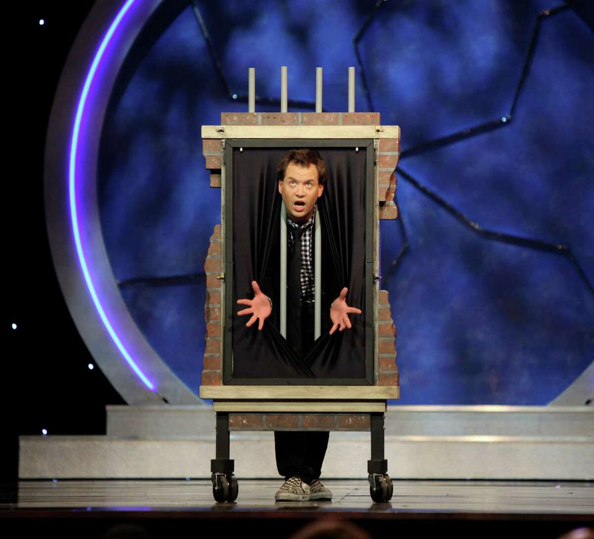 Farrell Dillon is among the performers in the Masters of Illusion Live! show, which comes to Stamford, Conn., on Thursday, Feb. 6, 2014, at the Palace Theatre. Dillon, who is a magician, also offers up plenty of comedy in his routine. For information on tickets, visit www.scalive.org.