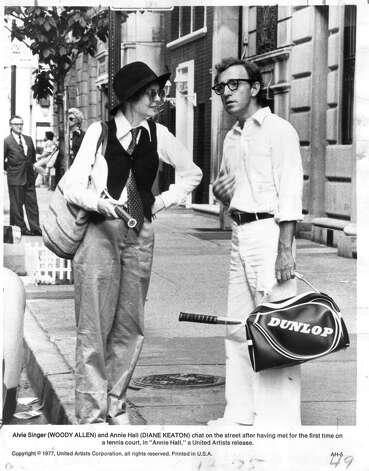 """""""Annie Hall""""–Winner of four Oscars -- including Best Picture and Best Actress -- director Woody Allen's iconic romantic comedy charts the relationship between neurotic writer Alvy Singer and quirky aspiring singer Annie Hall.Available Now! Photo: Unknown / Handout"""