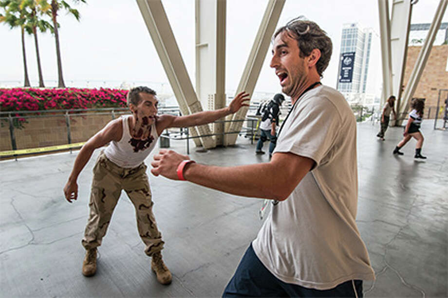 """The Walking Dead Escape"" is the official obstacle course of the 