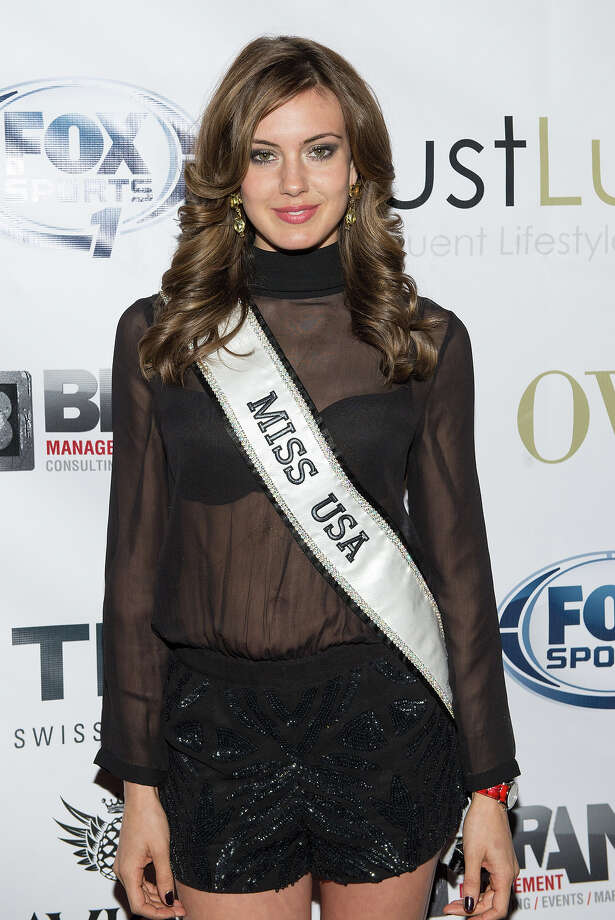 Miss Usa Erin Brady attends the 2014 Super Bowl Kickoff Players Party at Pranna Restaurant on January 29, 2014 in New York City. Photo: Mike Pont, WireImage / 2014 Mike Pont