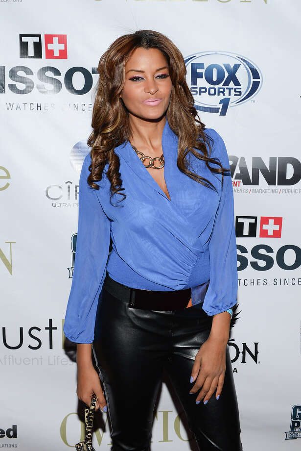 Television Personality Claudia Jordan attends the 2014 Super Bowl Kickoff Players Party at Pranna Restaurant on January 29, 2014 in New York City. Photo: Mike Pont, WireImage / 2014 Mike Pont