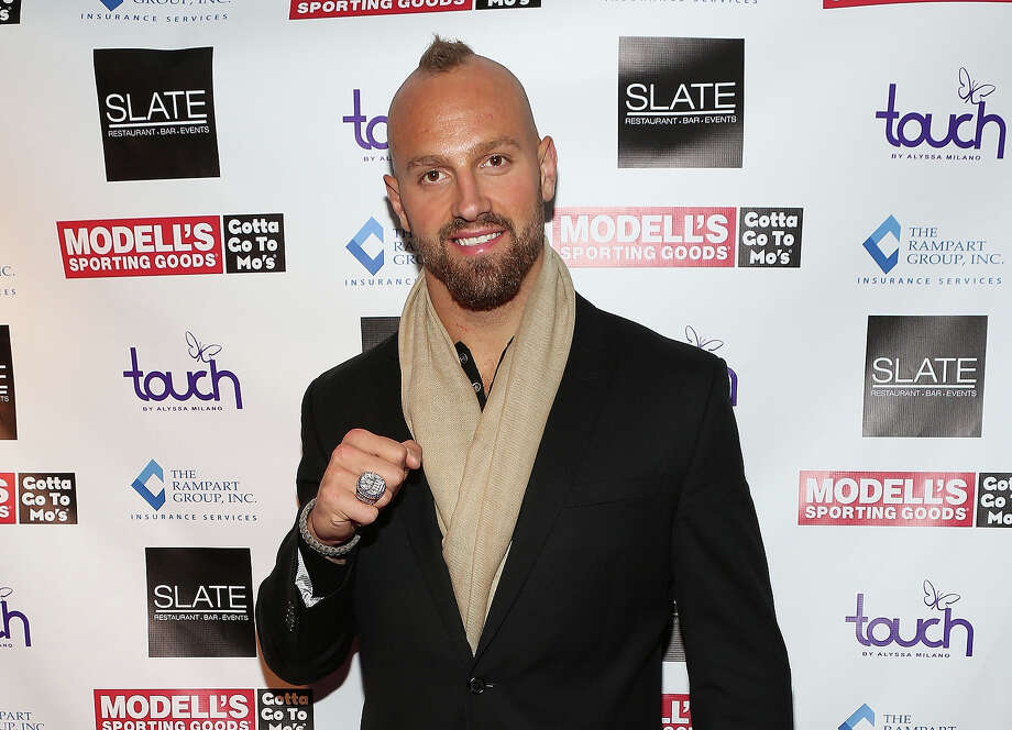 Mark Herzlich attends Modell's Super Bowl Kickoff Party & Touch By Alyssa Milano Fashion Show at Slate on January 30, 2014 in New York City. Photo: Robin Marchant, Getty Images / 2014 Getty Images