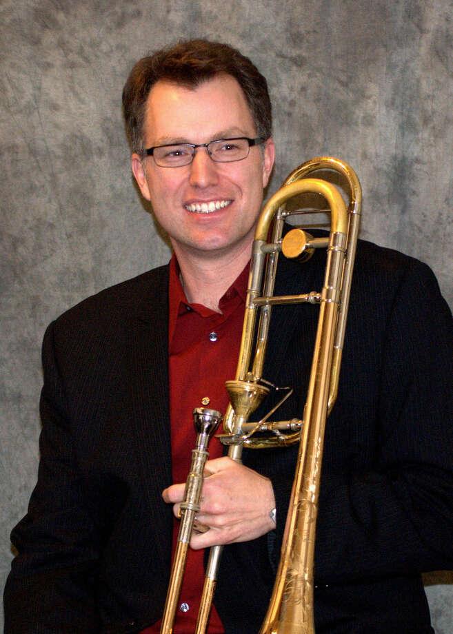 Greg Spiridopoulis, trombone. (Courtesy UMass Amherst)