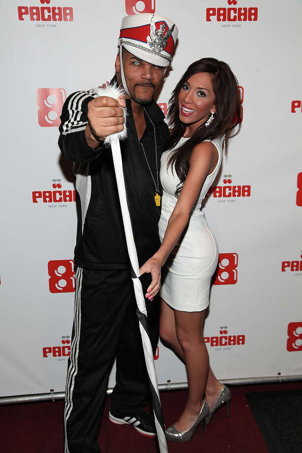 Anthony Lamont and Farrah Abraham attends Pacha's Tailgate Pre-Party at Pacha on January 30, 2014 in New York City. Photo: Manny Carabel, Getty Images / 2014 Manny Carabel