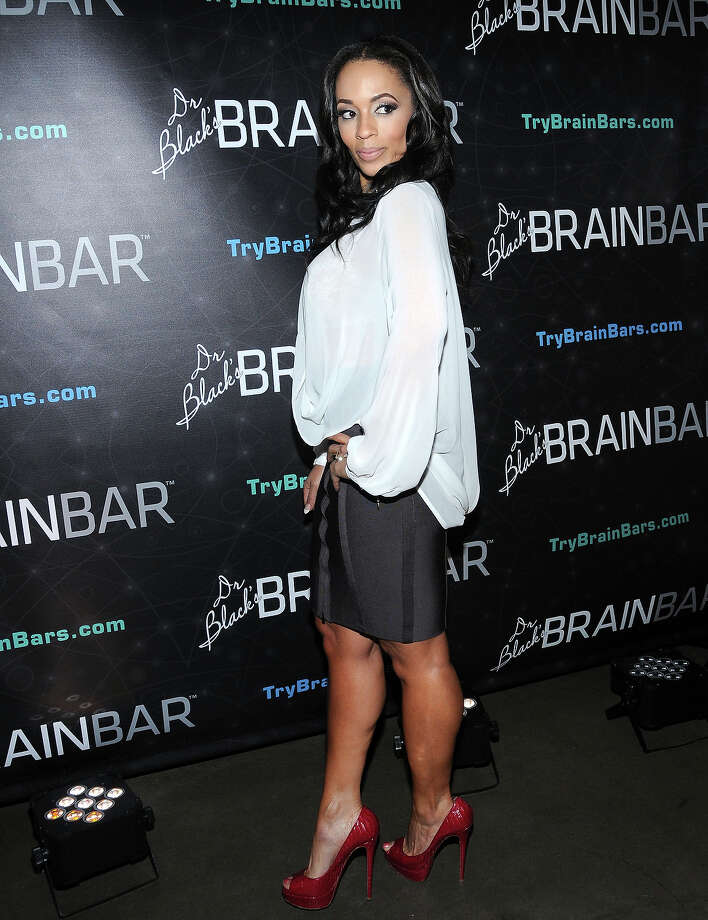 Actress/model Melyssa Ford attends Dr. Black's Brain Bar Super Bowl XLVIII Launch Event at PH-D Rooftop Lounge at Dream Downtown on January 30, 2014 in New York City. Photo: Desiree Navarro, Getty Images / 2014 Getty Images