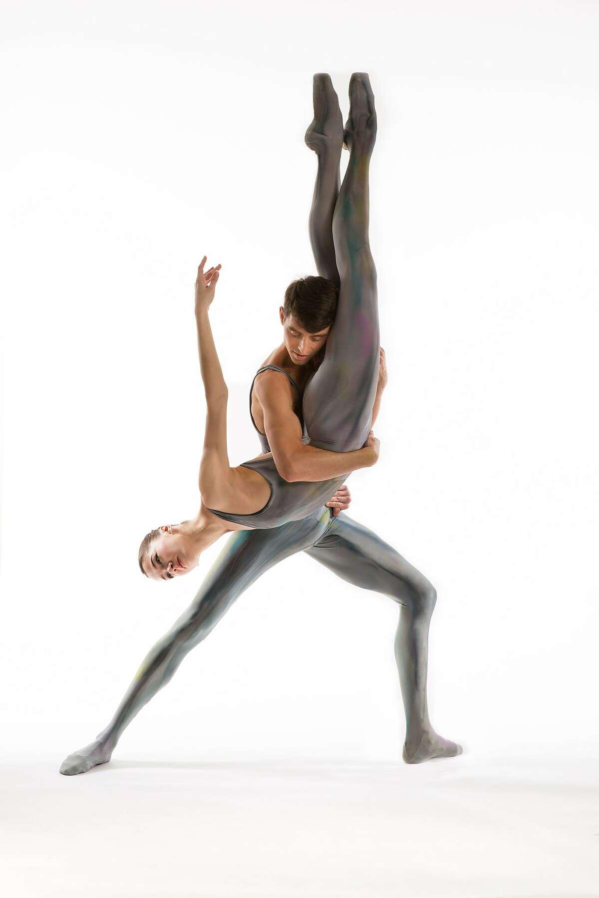 Diablo Ballet's Justin VanWeest and Tetyana Martyanova danced Ben Stevenson's rhapsodic pas de deux