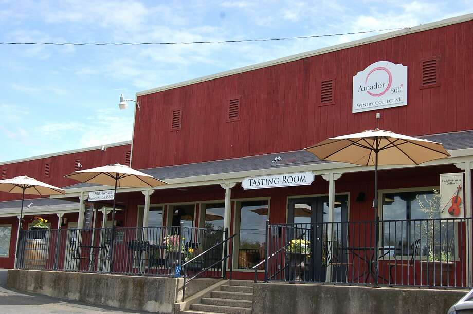 Amador 360 is a co-op wine shop and tasting room that offers nearly 100 wines from Amador County. Photo: Bob Barron