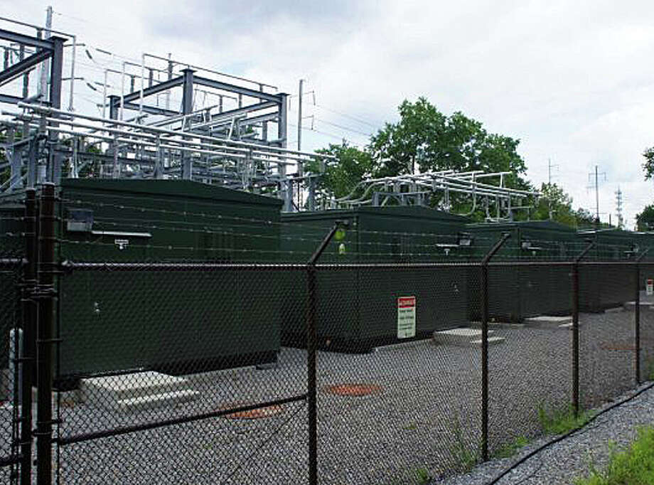 This Connecticut Light & Power substation near the Greens Farms Railroad Station is one of the holdings that again placed the electric utility at the top of the town's list of biggest taxpayers. Photo: File Photo / Westport News