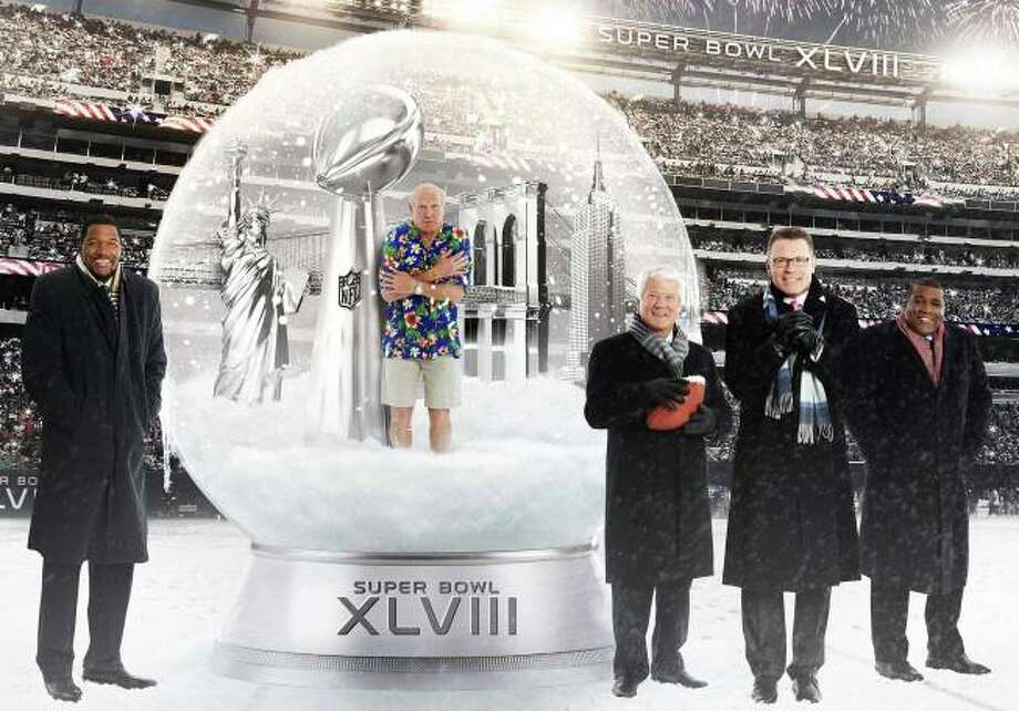 Super Bowl XLVIII is Sunday, Feb. 2, at 5 p.m. on FOX. Photo: 2014 FOX / FS1 / 2014 FOX / FS1