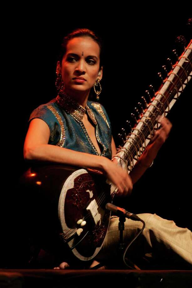 Musician Anoushka Shankar will perform in one of three tributes to her father, the legendary Ravi Shankar, during the Indo-American Association's 2014 season. Photo: Bikas Das, STF / AP