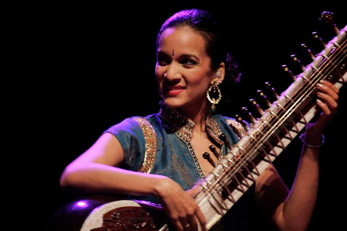 """Musician Anoushka Shankar, shown in 2009, performs """"Traces of You,"""" one of three tributes to her father, the legendary Ravi Shankar, that will be presented during the Indo-American Association's 2014 season."""