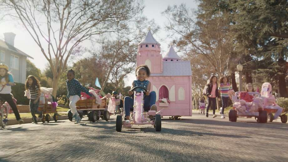 GoldieBlox won attention with its Super Bowl ad, above, and its parody of a Beastie Boys' song. Photo: Rpa