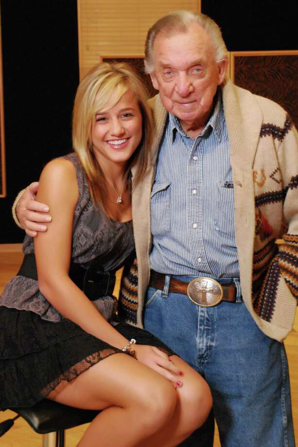 Mary Sarah and the late Ray Price Photo: Chuck Jones Phtography