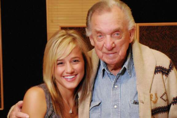 Mary Sarah and the late Ray Price