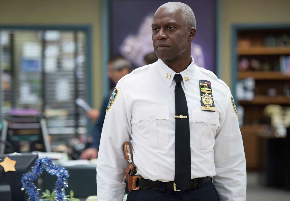 Capt. Ray Holt (Andre Braugher) in BROOKLYN NINE-NINE