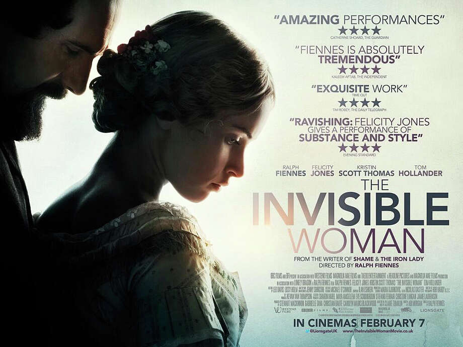 """The Invisible Woman"" is an account of author Charles Dickens' affair with a much younger aspiring actress, starring and directed by Ralph Fiennes. Photo: Contributed Photo / Westport News contributed"