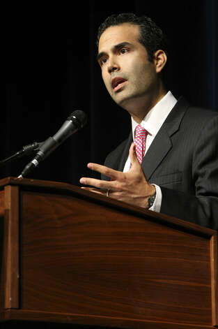 "George P. Bush, Republican candidate for Texas Land Commissioner and son of former Florida Gov. Jeb Bush: ""Let's come together and #StandWithRickPerry to continue building our #texasmiracle,"" Bush tweeted. Photo: Helen L. Montoya / San Antonio Express-News / The San Antonio Express-News"