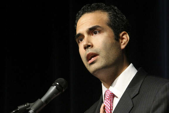 George P. Bush's résumé and his statements on  political inclusiveness give him the edge in the land commissioner's race.