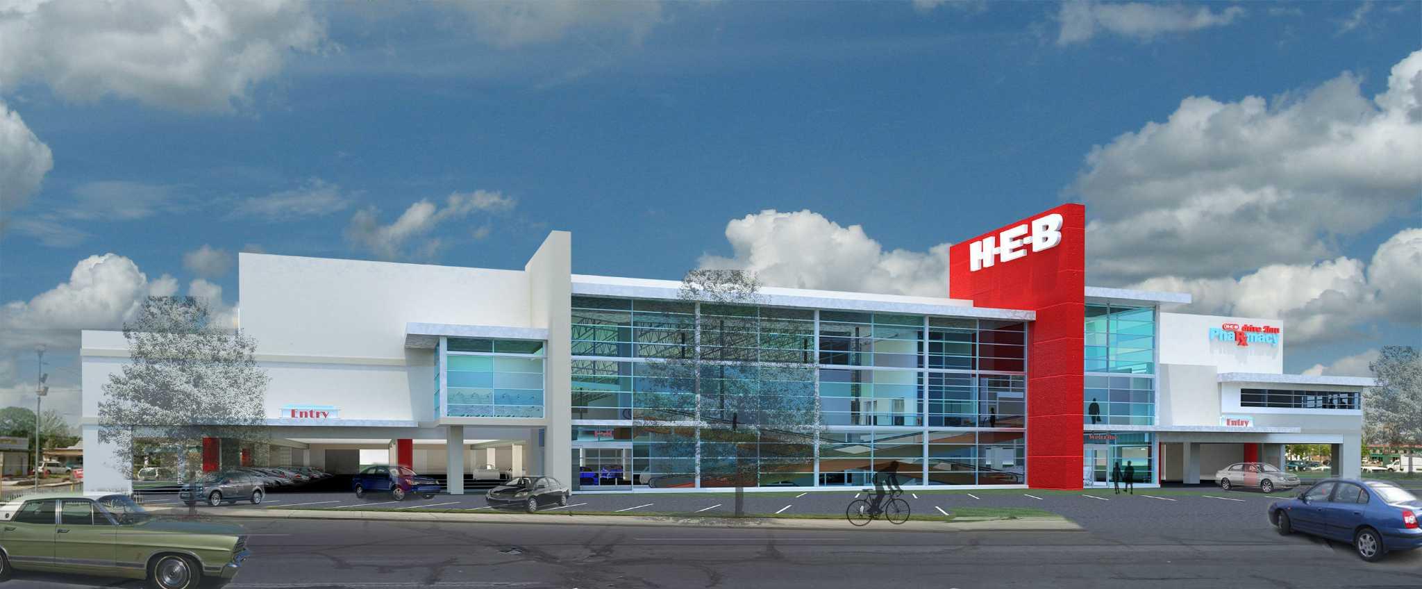 H E B Plans To Demolish Replace Nogalitos Store San