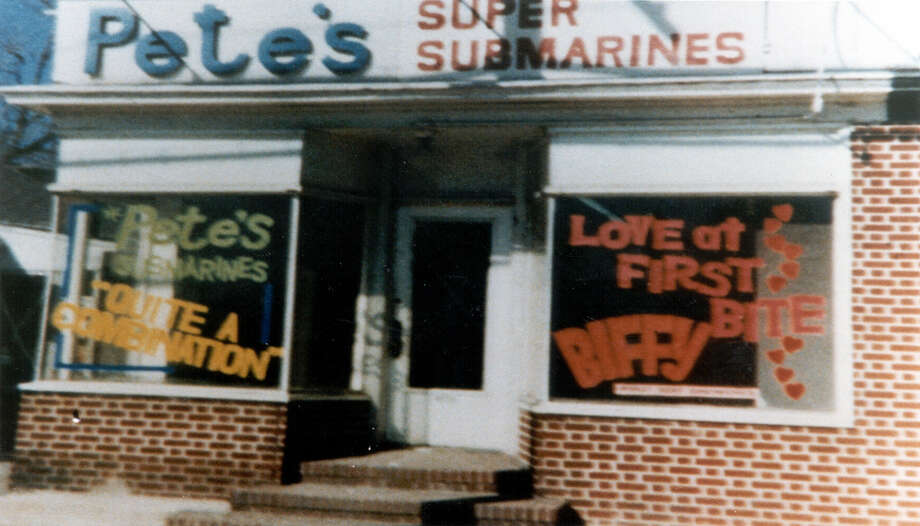 With a $1,000 loan from family friend Peter Buck, of Danbury, 17-year-old Fred DeLuca opened PeteâÄôs Super Submarines, which later became the first Subway sandwich shop in Bridgeport in 1965.  113 First store original name Pete's Super Submarine Sandwic.JPG Photo: Contributed Photo / Connecticut Post Contributed