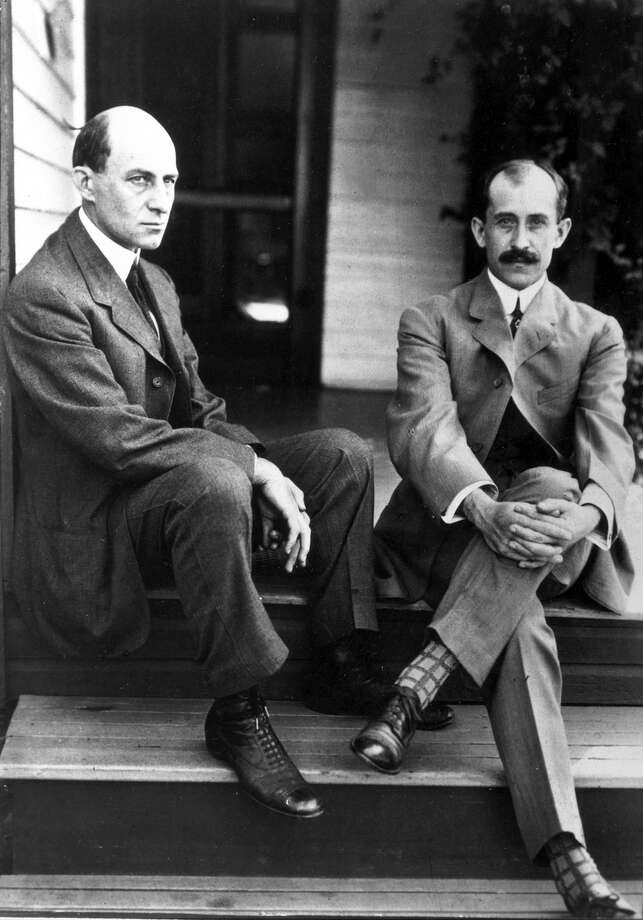 Answer: The Wright Type B was the name of the plane; and the Wright brothers, Wilbur (left) and Orville, sent him flying instructions through the mail. Photo: Science & Society Picture Librar, Getty Images / Please read our licence terms. All digital images must be destroyed unless otherwise agreed in writing.