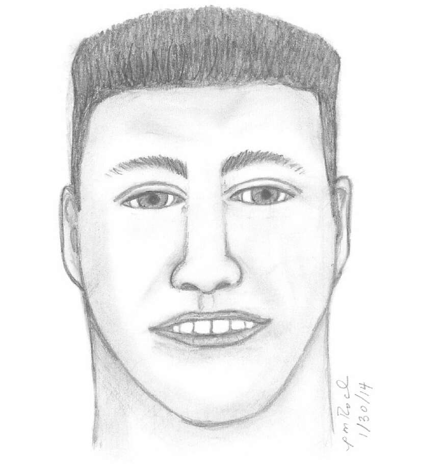 A composite sketch shows the suspect accused of trying to lure a girl into his vehicle in Pasadena on Wednesday. (Pasadena police)