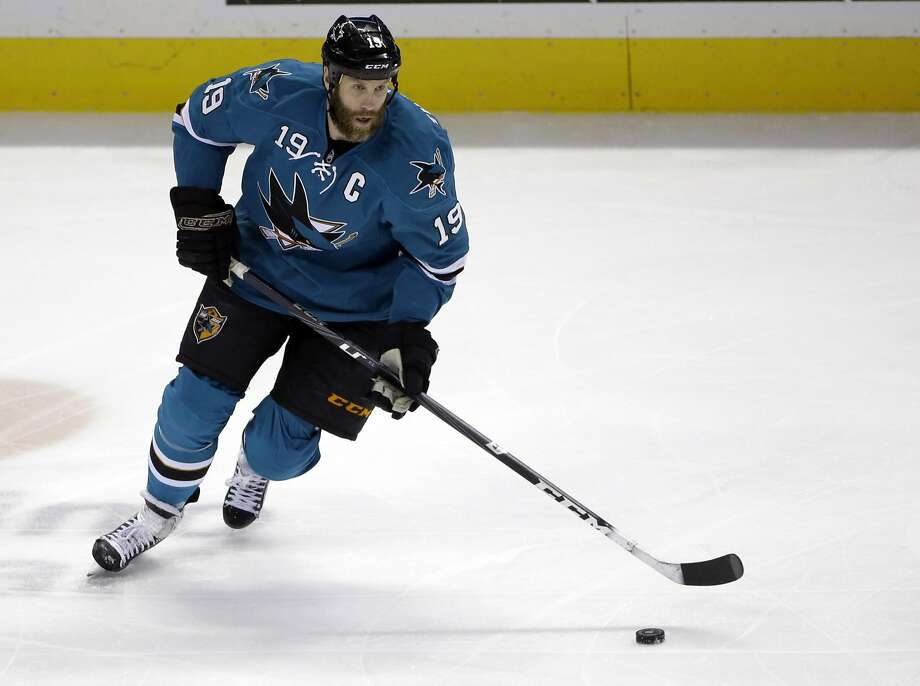 Joe Thornton, passed over for the Olympics, will get some time off with his family. Photo: Marcio Jose Sanchez, Associated Press