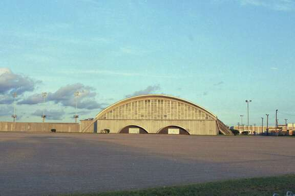 The unique architecture of the now demolished Delmar-Tusa Fieldhouse made it stand out.