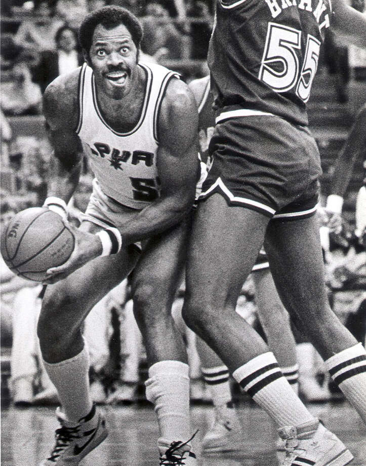 Former Spur Artis Gilmore, who was inducted into the Naismith Hall of Fame in 2011, played in 11 all-star games in 18 seasons of professional basketball. Photo: Express-News File Photo