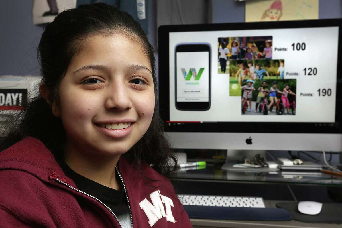 Estrella Hernandez has received $12,000 through community grants and sponsorships for the app.
