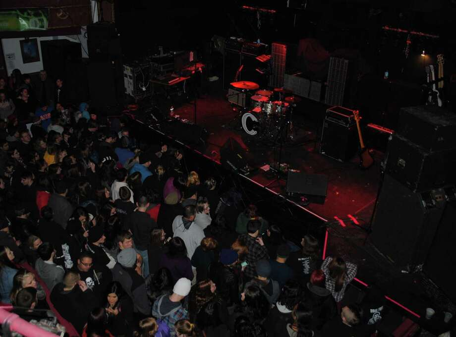 Pop punk fans packed a sold-out show on Wednesday, January 29, 2014 at The Chance in Poughkeepsie, NY to see the band AFI, A Fire Inside. Photo: Wendy Mitchell