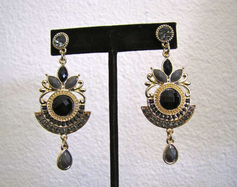 Ornate earrings, $16.99, LUXE Boutique, Beaumont Photo: Cat5