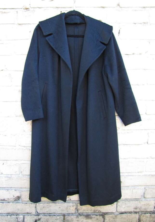 Alpaca wool coat, $28, Treasure House, Beaumont Photo: Cat5