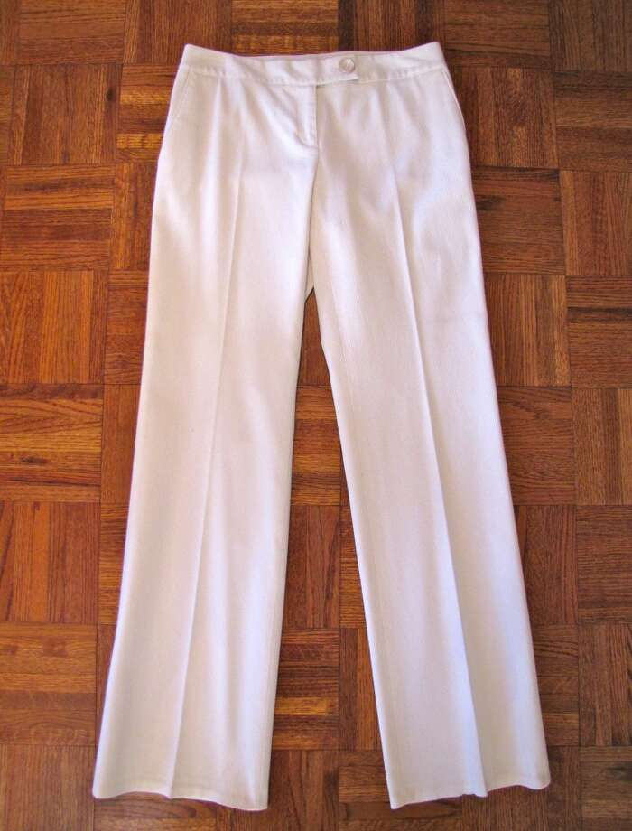 White pants, $6.50, Treasure House, Beaumont Photo: Cat5