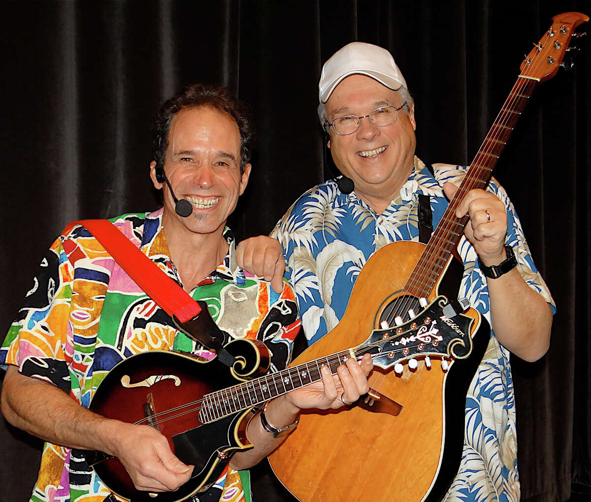 Grammy Award winner Les Julian and T-Bone performed at the Friday concert to benefit Philippine typhoon relief efforts Friday, organized by the Town Youth Council.