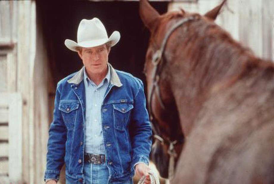 """1998 Robert Redford stars in """"The Horse Whisperer."""""""